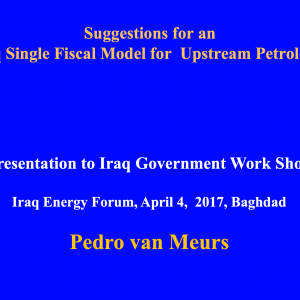Developing the Iraqi Petrochemical Industry Critical Success